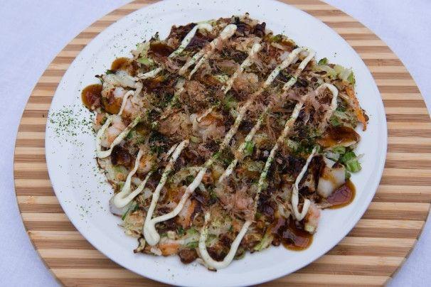 Hooked on okonomiyaki