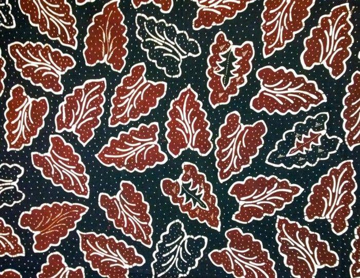 Motif Batik Modern Banten Sketsa Gambar Seni Grafis