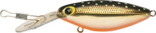 Storm Original Hot N Tot 05 (Met Gold Chartreuse Specks, Size- 2) Bass and salmon love ?em, and walleye can?t resist ?em! Sporting the same old erratic side-to-side swagger.. Original metal lip. Original molds, components, patterns and colors. Wild searching action. Top lure for trolling for walleye.  #Storm #Sports