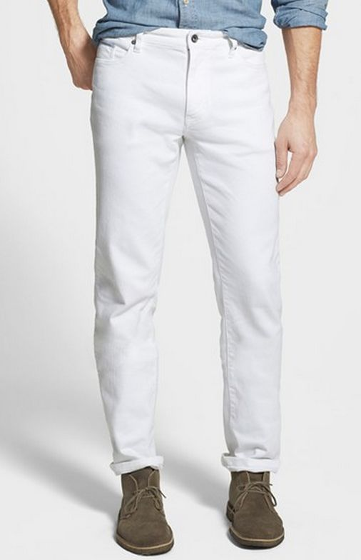 1000  ideas about White Jeans For Men on Pinterest | Men's style ...