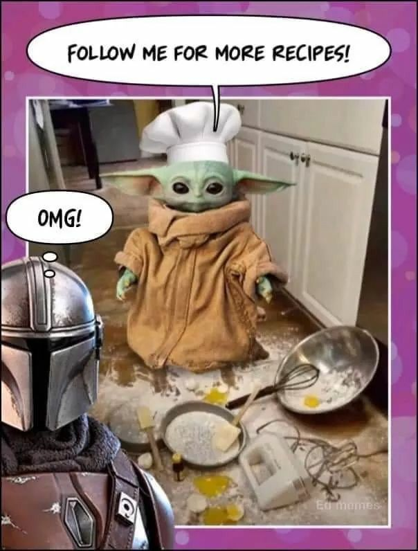 Pin By Lefuelar On Baby Yoda In 2020 Yoda Funny Yoda Meme Star Wars Jokes