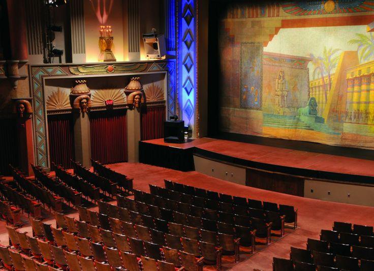The Historic Egyptian Theatre, DeKalb, IL interior. I saw ...