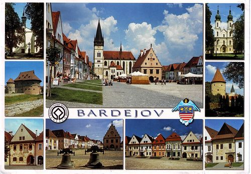 World Heritage Site -- Bardejov  formerly Bartfa, Hungary - birthplace of my great-great grandfather Kornel Chyzer