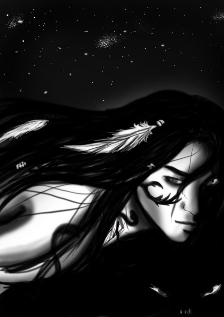 A Druid from D&D - Zanna