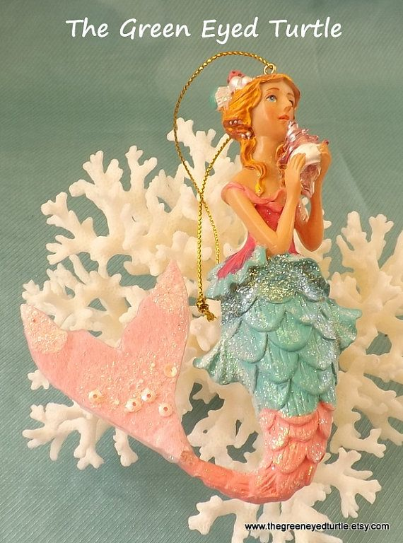 Best 25+ Mermaid ornament ideas on Pinterest | Tropical christmas ...