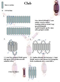 Beaded Bead to use as pendant or earrings.  Lash bugels together with a ladder stitch, add some netting, sandwich between two beads on a headpin.  #Seed #Bead #Tutorials