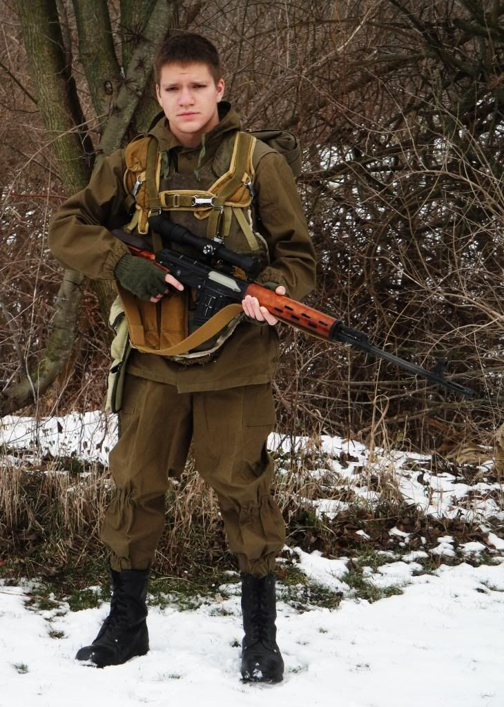 Young Tchetchen Sniper By Russians Soldiers Video