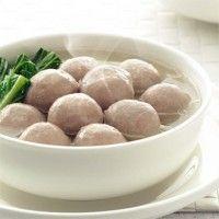 beef meat ball ( bakso sapi )