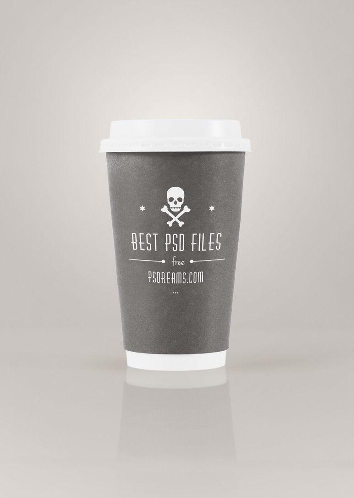 Coffee to Go PSD Mockup | Mock-Ups | Mockup, Coffee to go, Coffee