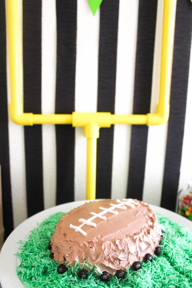 Get ready for the big game with these football party recipes and DIY tutorials!