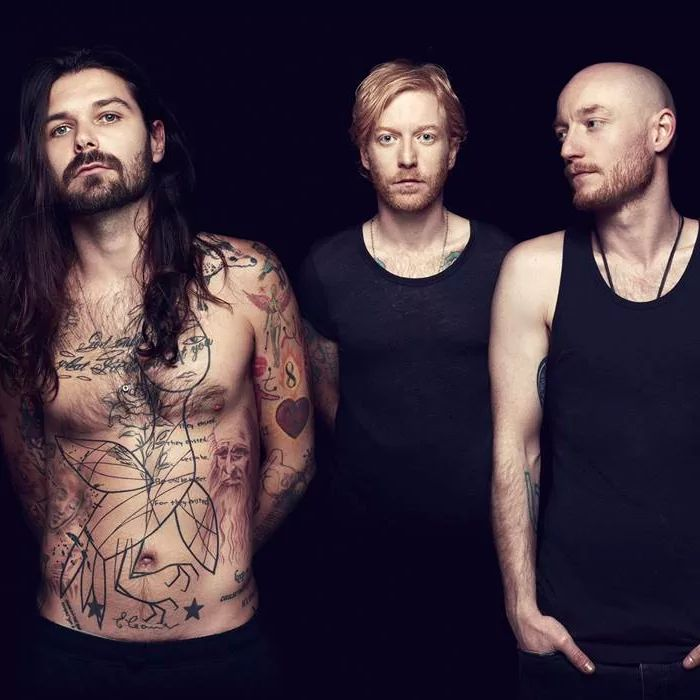 Simon Neil, James Johnston and Ben Johnston #BiffyClyro #MonTheBiff #music