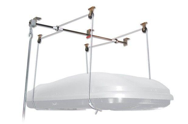 Best Diy Garage Hoist System Google Search With Images Roof Box Garage Hoist Roof 400 x 300