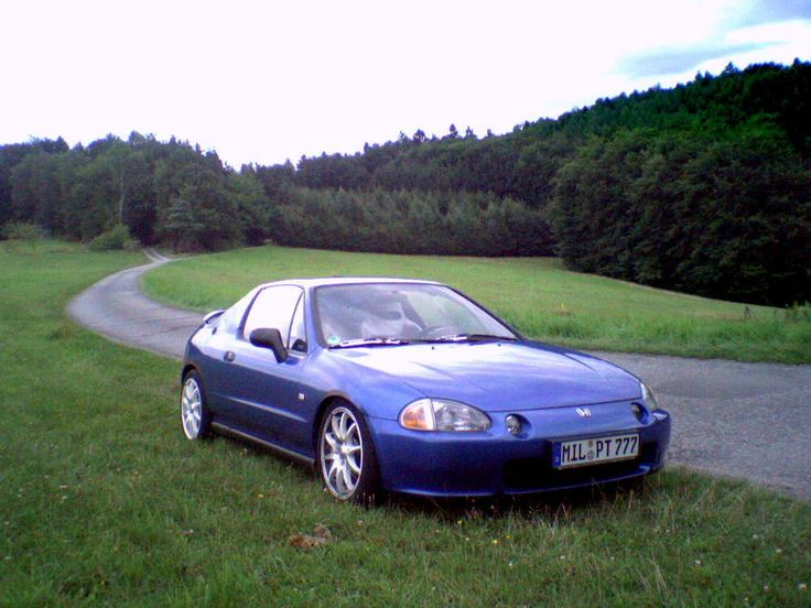 Honda Del Sol VTi- my car.. minus the spoiler
