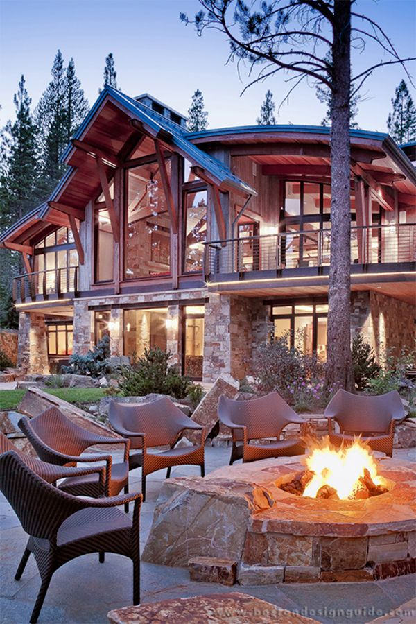 Ski-Chic Mountain Retreat