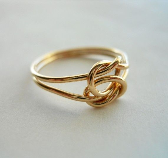 Love Knot 14K Gold Filled Ring by StreetBauble on Etsy, $29.00 styleWedding Ring, Knots Rings, Knot Rings, 14K Gold, Gold Rings, Jewelry, Infinity Rings, White Gold, Gold Filling