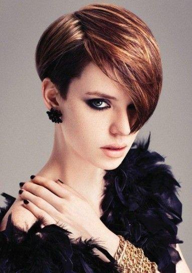 5 Ideas de peinados para usar con flequillo al costado | Decoración de Uñas - Manicura y Nail Art