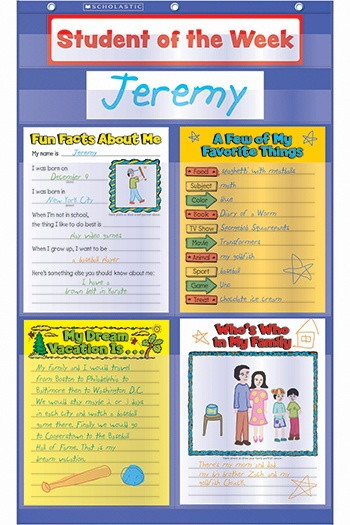 star of the week poster template - 20 best images about star student on pinterest pocket