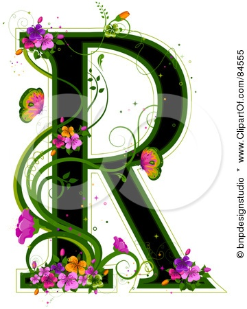 Letter R - clipartof.com