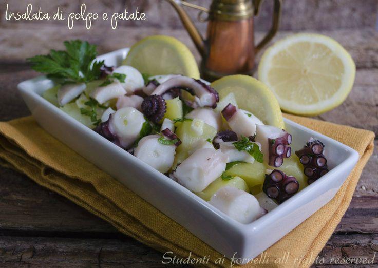 Insalata di polpo e patate http://blog.giallozafferano.it/studentiaifornelli/insalata-di-polpo-e-patate-ricetta/