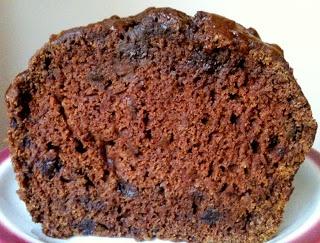 Chocolate Pumpkin Loaf from our November VegCookbook, Forks Over Knives