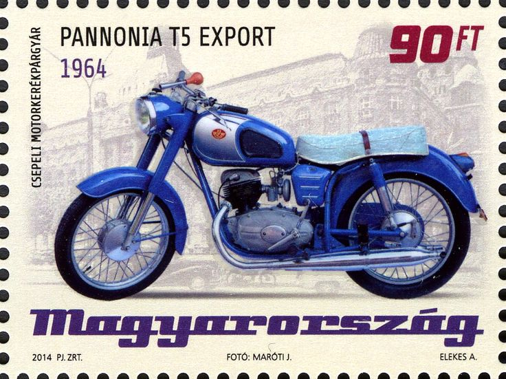 Pannonia T5 Export 1964