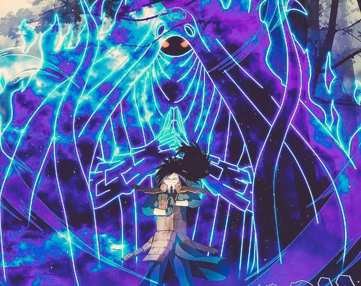Susanoo Madara Naruto Anime