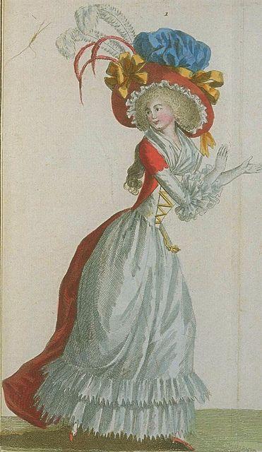 Robe a la turque - Magasin des Modes, Janvier 1788