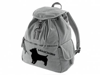 Canvas Rucksack HunderassenCanvas Rucksack Hunderasse: Australian Terrier