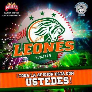 BEISBOL CAMPECHANO: * LOS LEONES ESTÁN LISTOS PARA EL PLAYBALL