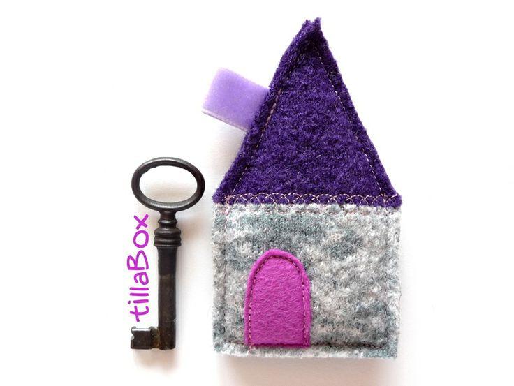 """Schlüsselanhänger """"TEO"""" von tillaBox auf DaWanda.com"""