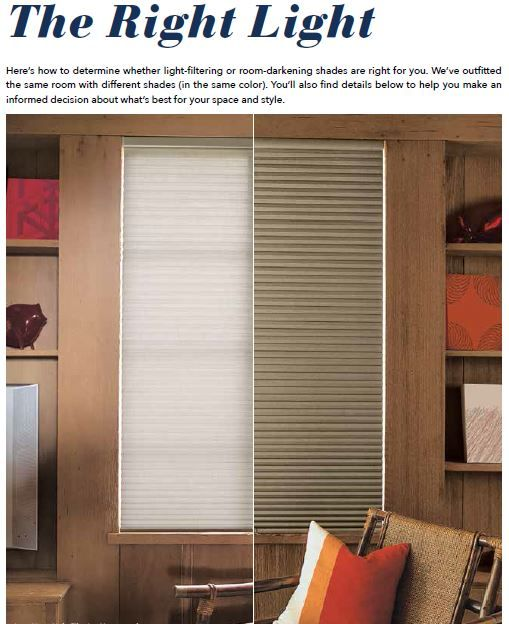 Do You Know The Difference Between Light Filtering And: room darkening blinds
