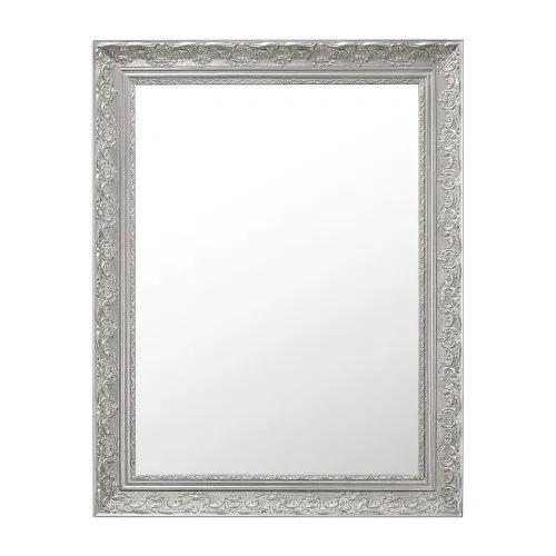 Specchio in paulonia argentato 70x90 cm Specchio con