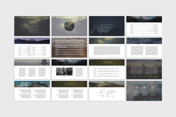 Grove - Creative Presentation by Tugcu Design Co. on Creative Market
