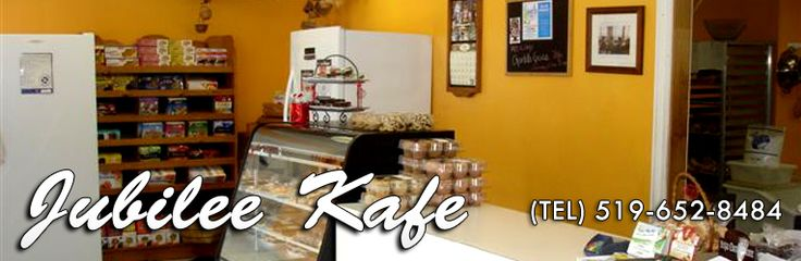 Jubilee Kafe  Dedicated GF bakery with additional GF products 2519 Main Street, London (Lambeth)