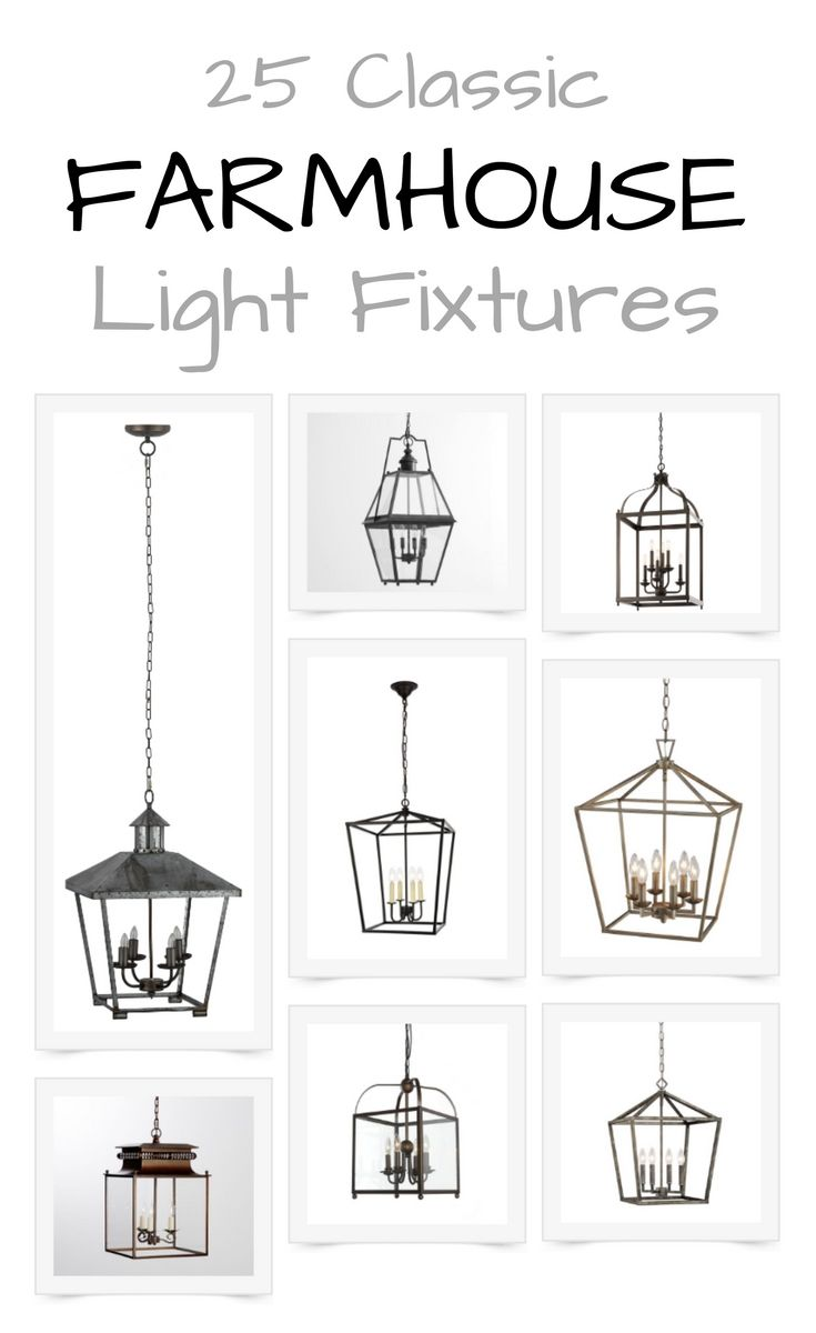 25 Classic Farmhouse Light Fixtures Farmhouse Light Fixtures