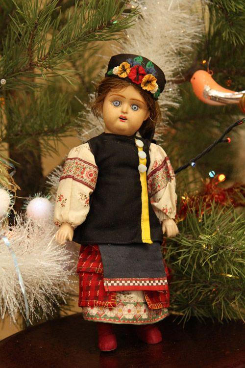 РЕДКАЯ АНТИКВАРНАЯ РУССКАЯ КУКЛА ФАБРИКИ ДУНАЕВА / Продажа антикварных кукол