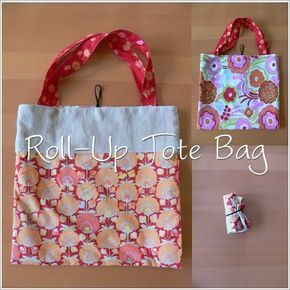 after my quilting oops the other night (about that here), i decided to take a wee break from my little apples to work on some roll-up tote bags, which i've been meaning to do for some time now. since september, to be specific, as soon as i saw this fab tutorial from Stumbles & Stitches: …