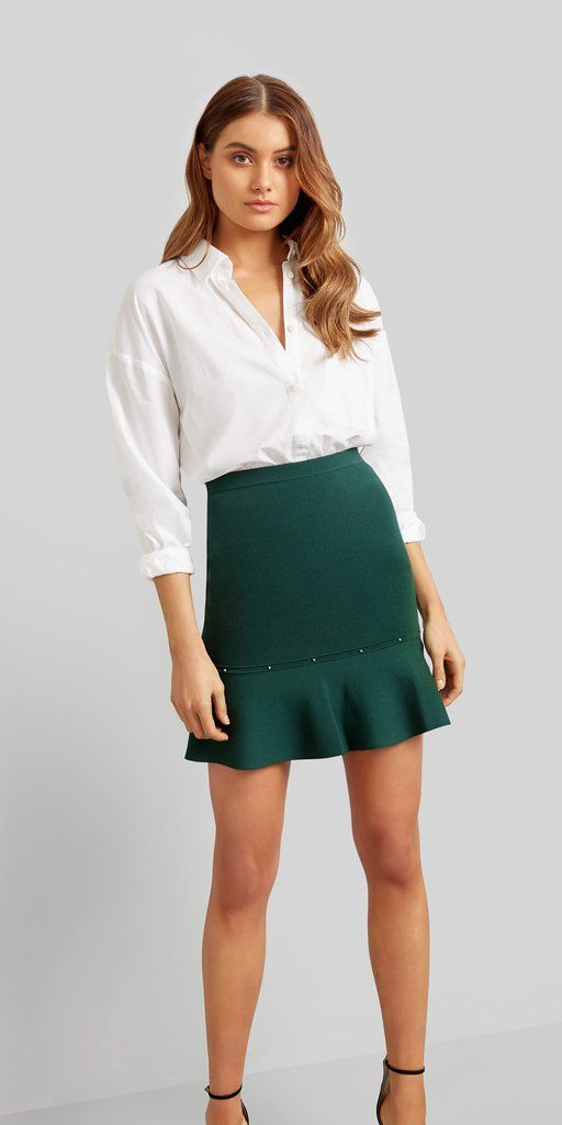 Kookai  The Mulholland Skirt is a must have this season. The beautiful 99c6ecf25