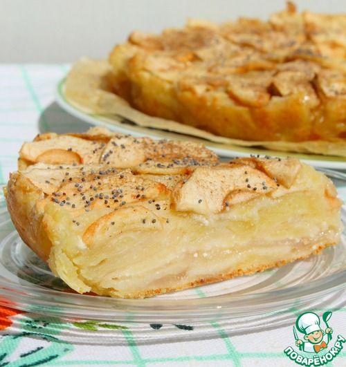 Описание:Люблю нежной любовью яблочные пироги и при каждом удобном случае…
