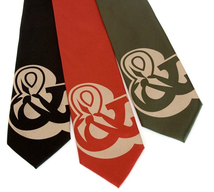 Ampersand Carnival Necktie from Cyberoptix