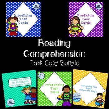 Reading Comprehension Task Card Bundle- Over 115 task cards!