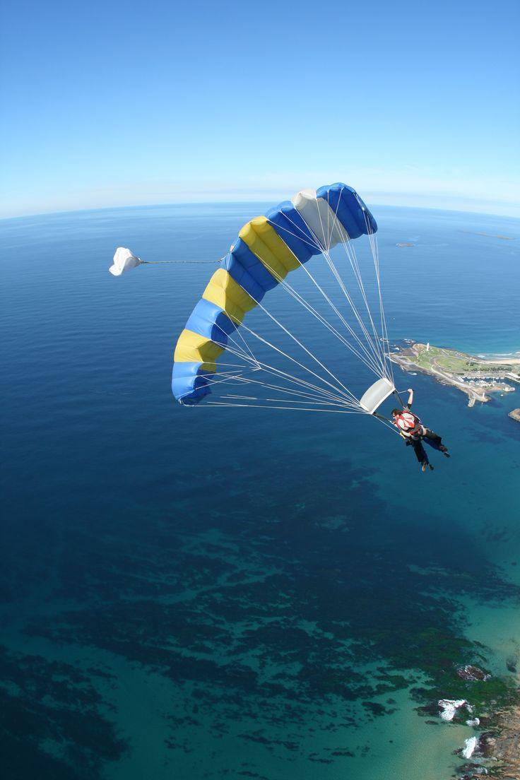 Sydney's only beach skydive
