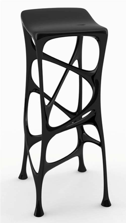 Black Gnuphorm | chair . Stuhl .  chaise | Design: @ digsdigs |