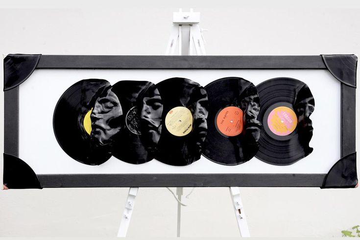 Vinyl Record Art Projects