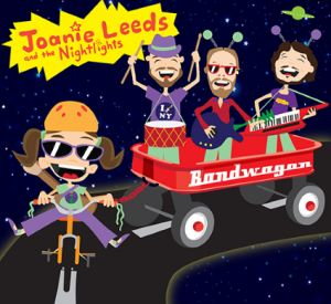 Joanie Leeds and the Nighlights have SERIOUS TALENT! I am super excited to have Bandwagon in my children's CD collection! I thought every song had a perfect theme and (I do not say this often, but) I really love every single song on this CD!