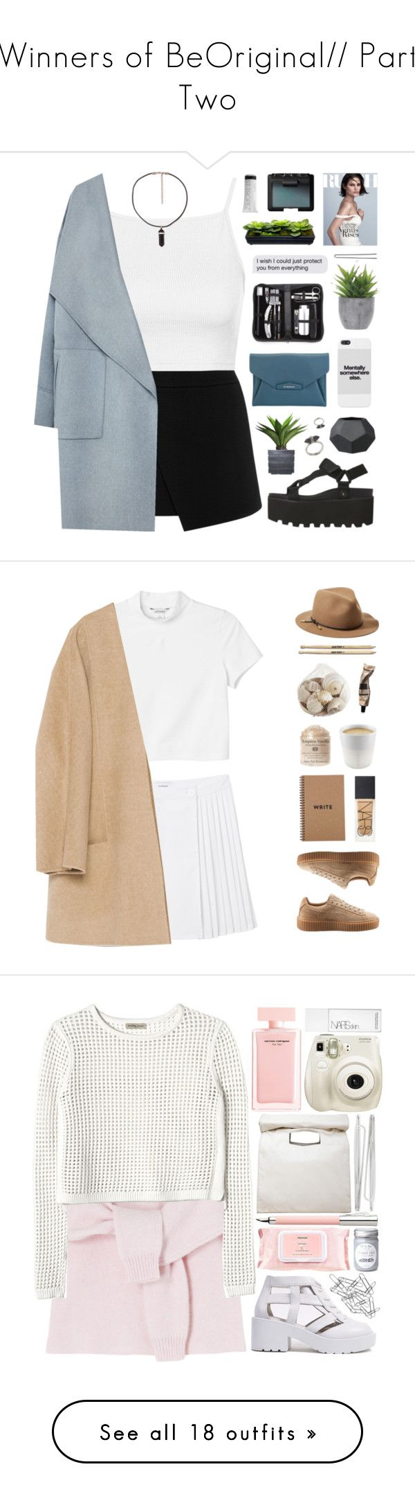 """Winners of BeOriginal// Part Two"" by giulls1 ❤ liked on Polyvore featuring Warehouse, Topshop, Zara, Givenchy, Karen Kane, Royce Leather, Lux-Art Silks, Laura Ashley, Hershesons and NARS Cosmetics"