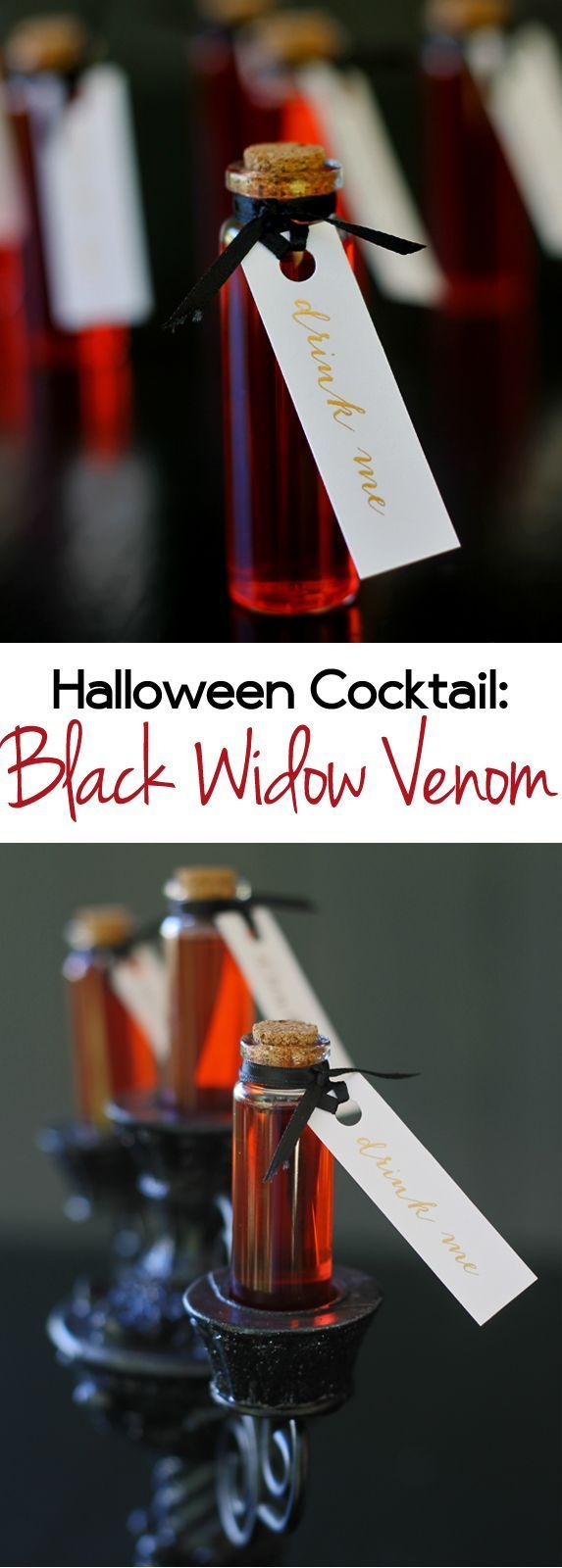 Halloween Cocktail: Black Widow Venom