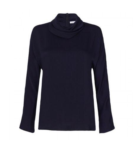 Camilla And Marc - Beha Cowl Top In Navy
