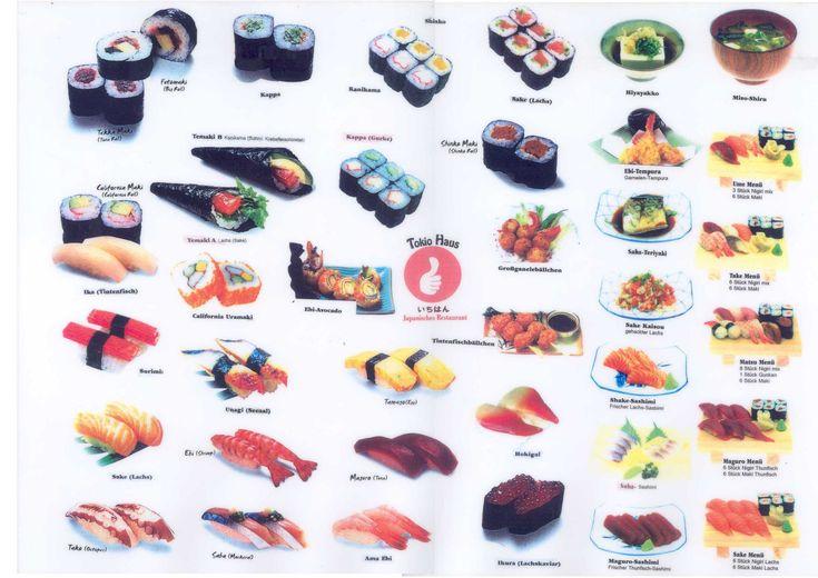 Sushi Photo Sushi Kinds Of Sushi Types Of Sushi Sushi Fish