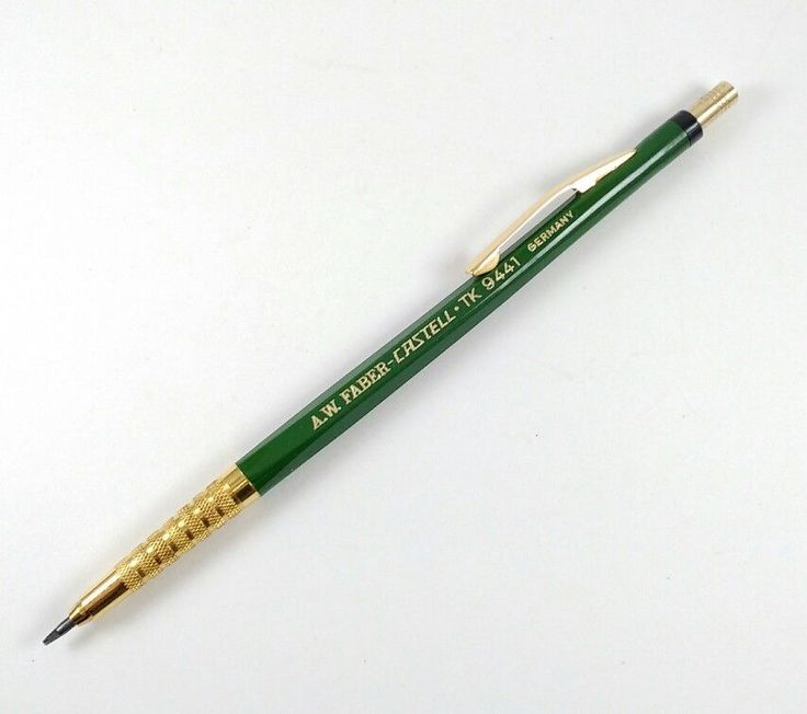 A.W. FABER-CASTELL TK 9441 Vintage Drafting Mechanical Leadholder Pencil GREEN